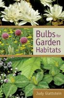 Bulbs for Garden Habitats