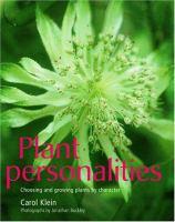 Plant Personalities