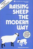 Raising Sheep The Modern Way