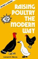 Raising Poultry the Modern Way