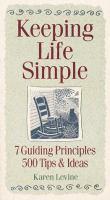 Keeping Life Simple