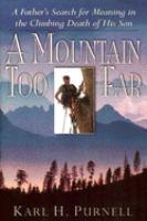 A Mountain Too Far