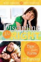 Discipline Me Right