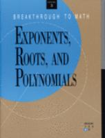 Exponents, Roots, and Polynomials
