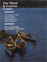 Wood & Canvas Canoe