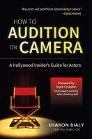 Image: How to Audition on Camera