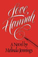 Love, Hannah