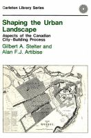 Shaping The Urban Landscape