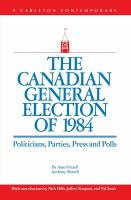 The Canadian General Election of 1984