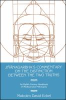 Jñānagarbha's Commentary on the Distinction Between the Two Truths