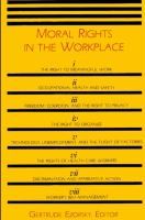 Moral Rights in the Workplace