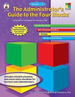 The Administrator's Guide to the Four Blocks