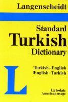 Langenscheidt's Standard Turkish Dictionary