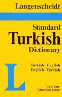 Langenscheidt's Standard Turkish Dictionary