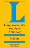 Langenscheidt's standard Italian dictionary, Italian-English, English-Italian