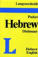 Langenscheidt's Pocket Hebrew Dictionary to the Old Testament
