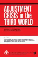Adjustment Crisis in the Third World