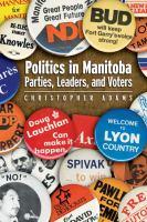 Politics in Manitoba