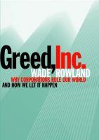 Greed, Inc