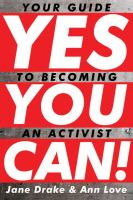 Cover of Yes You Can! Your Guide to