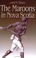 The Maroons in Nova Scotia