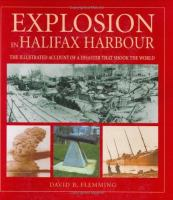 Explosion in Halifax Harbour
