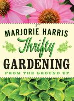 Book cover of Thrifty Gardening.