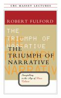 The Triumph of Narrative