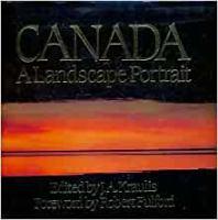 Canada, A Landscape Portrait