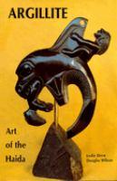 Argillite, Art of the Haida