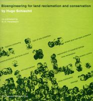 Bioengineering for Land Reclamation and Conservation