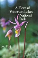 A Flora of Waterton Lakes National Park
