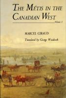 The Metis in the Canadian West