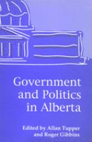 Government and Politics in Alberta