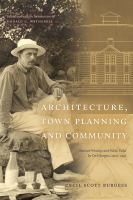 Architecture, Town Planning and Community