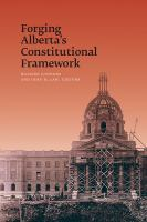 Forging Alberta's Constitutional Framework