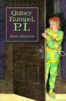 Quincy Rumpel, P.I