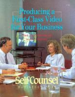 Producing A First-class Video for your Business