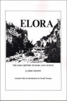 The Early History of Elora, Ontario and Vicinity