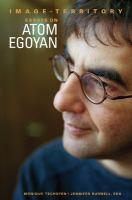 Image and Territory: Essays on Atom Egoyan