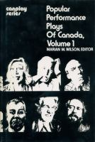 Popular Performance Plays Of Canada