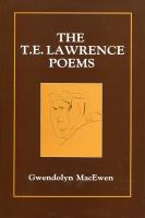 T.E. Lawrence Poems