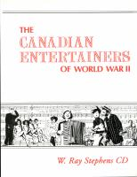 The Canadian Entertainers of World War II