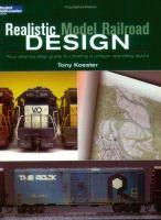 Realistic Model Railroad Design