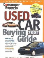 Used Car Buying Guide, 2001