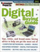 Consumer Reports Digital Buying Guide