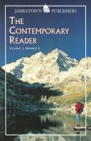 The Contemporary Reader, Volume 1, Number 5