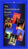 The Contemporary Reader, Volume 1