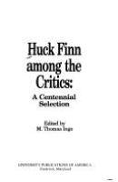 Huck Finn Among the Critics