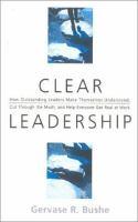 Clear Leadership